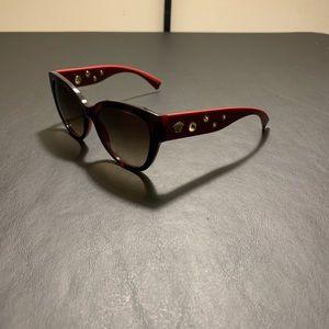 6ec7aa8437c4 VERSACE 4314 Red Gold Sunglasses